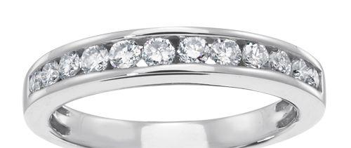 #Diamond Anniversary #Band By Samuels Jewelers