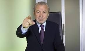 "Alan Michael Sugar, Baron Sugar is a British business magnate, media personality, politician and political adviser. According to the Sunday Times Rich List, Sugar became a billionaire in 2015... TV's ""The Apprentice"""
