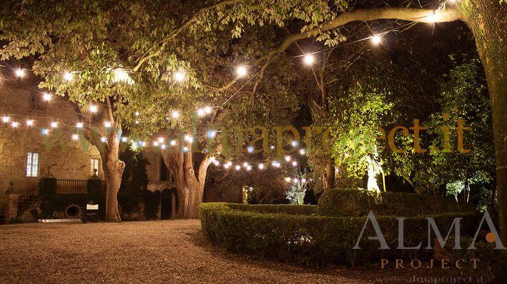 150318 - ALMA PROJECT @ Borgo Stomennano - Giardino Botanico - Bulbs lighting test 2