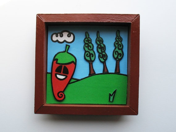 Little picture Pepe 0112 by PAPUZZE on Etsy, €18.00
