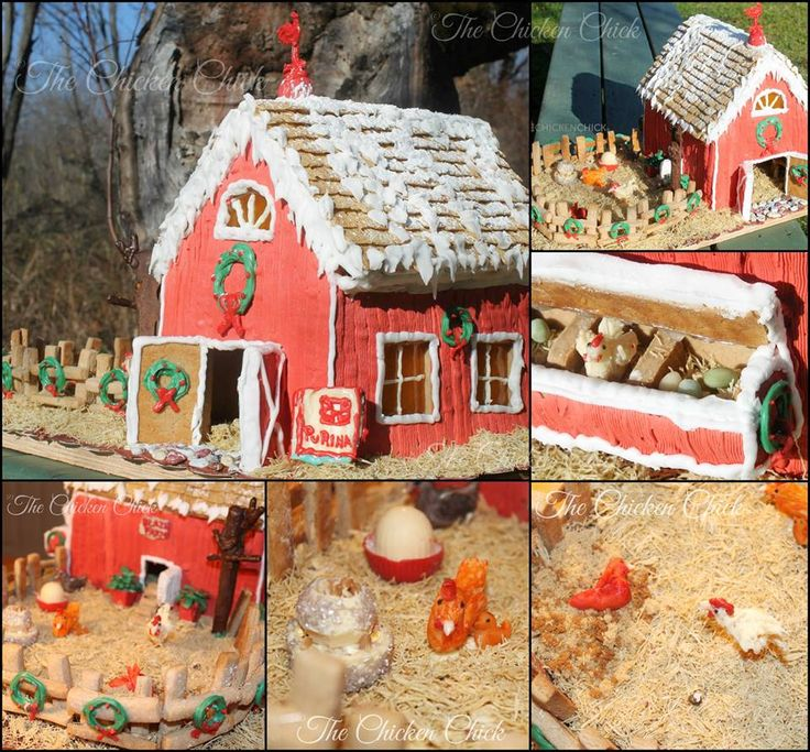 Chicken House Farm 198 best gingerbread house farms & country scenes images on