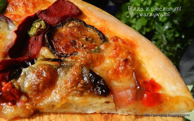 Stare Gary: Pizza z pieczonymi warzywami na cieście uniwersaln...