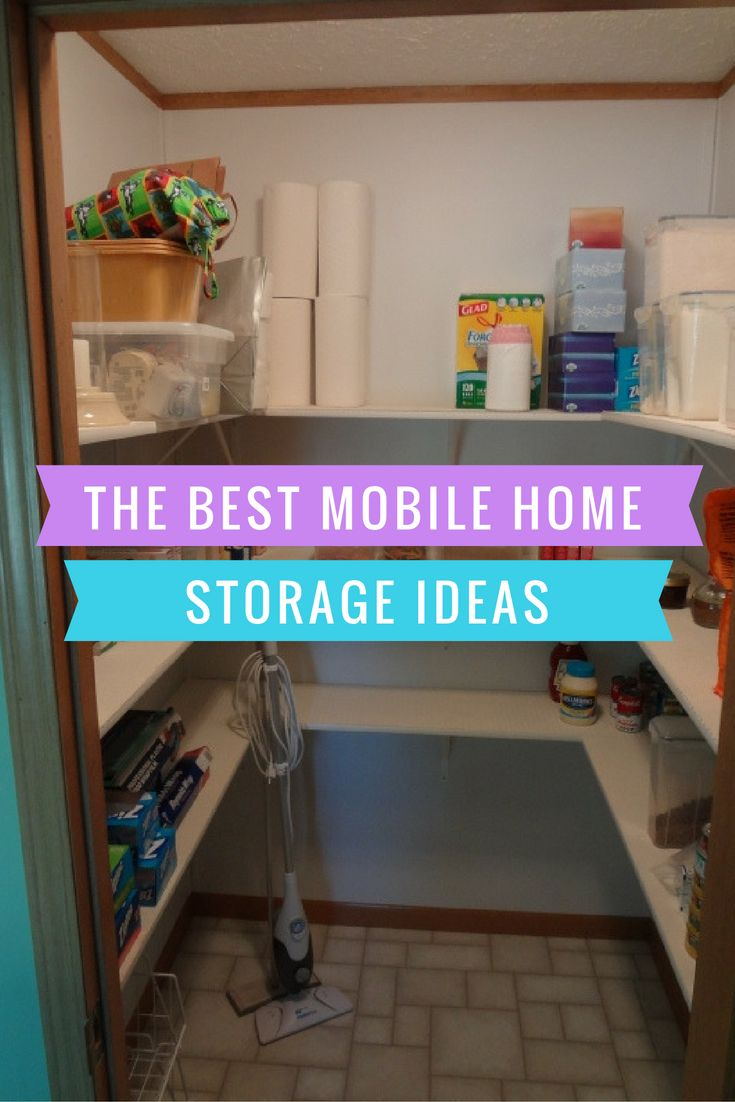 We Cover Mobile Home Storage Ideas For Every Place In Your Home. From Storing Cans Of Food To Storing Wrapping Paper. Make The Best Use Of Your Home Today!
