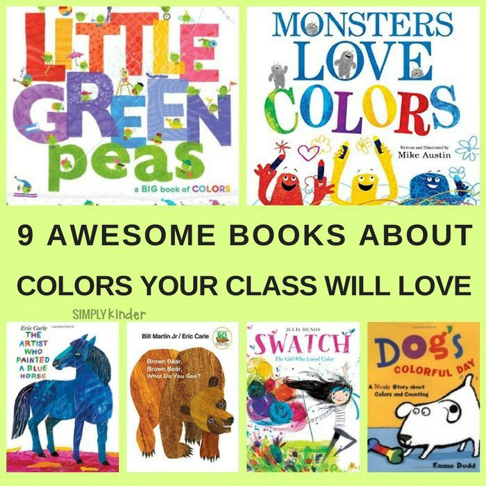 These fun booksabout colorare PERFECT forpreschool and Kindergarten Students learning color words. Continue the fun with ideas for color activities, games and lively songs (includes free printables).
