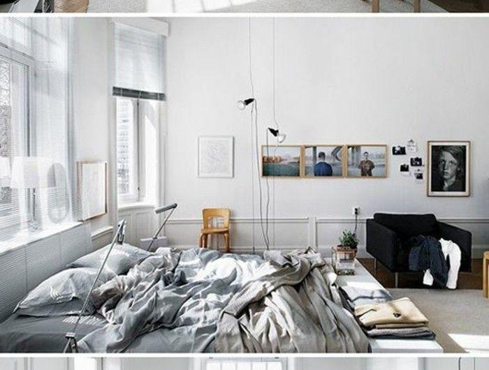 Best 25 lit deux personnes ideas on pinterest lit une personne deux appar - Meubler un studio de 20m2 ...