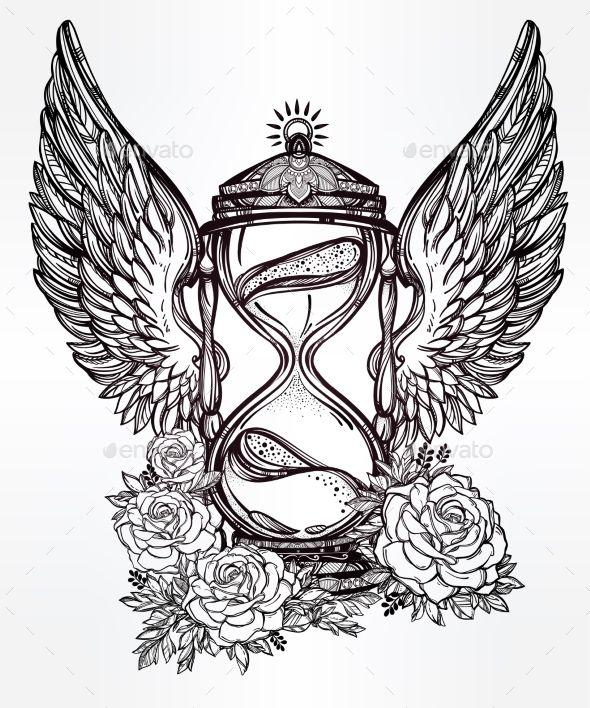 Hourglass tattoo vorlage  272 besten Tattoo Bilder auf Pinterest | kleine Tattoos, Tatoo und ...