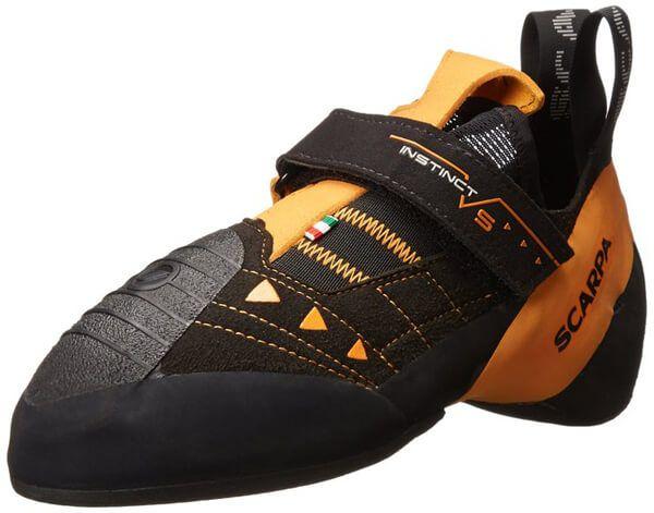 Scarpa Instinct VS Climbing Shoe BlackOrange 46 M US * Visit the image link  more details.