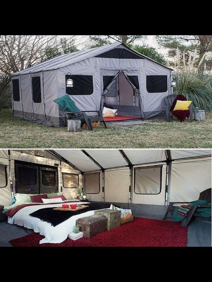 Safari Tent - the only way to camp #riccardomorini
