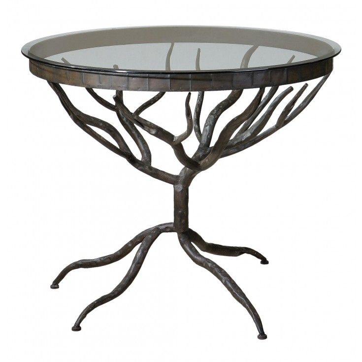 Shop For Uttermost Esher Accent Table, And Other Living Room Tables At  Patrick Furniture In Cape Girardeau, MO Bronze Metal Hand Forged Into  Delicately ...