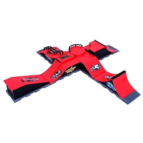 Série Planche à Roulettes Mini-rampe Skateboarding Accessoire Collection #C: Refroidir skate doigt touche la planche à roulettes ensemble…