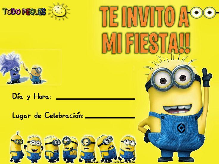 Tarjetas De Invitacion A Cumpleaños Para Hacer En Hd Gratis 2 HD Wallpapers