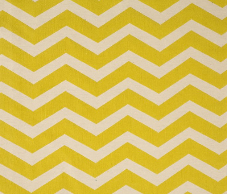 Tribe woven chevron in colour chartreuse, from Svenmill's Bohemian Collection