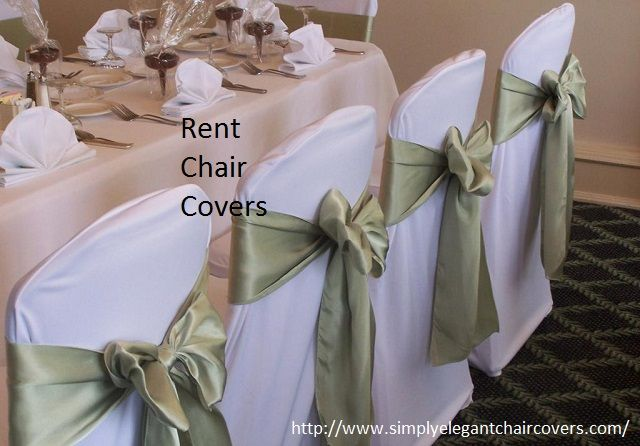 You can rent chair covers for your any event from Simply Elegant Chair Covers and Linens and make your next big event grand. Here you will get the wide range of chair covers made from the different materials as well as in different style and colors.