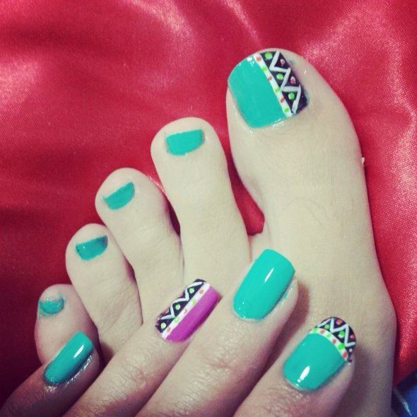 Uñas tribal!