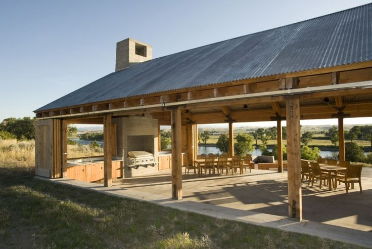 Muse Architects Riverside Barbecue Pavilion7 Outdoor
