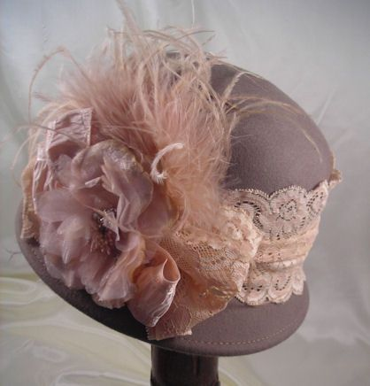 Ladies Tea Party Hats ~Place vintage hats on a hat stand for the perfect finishing touch to your tea party decor!