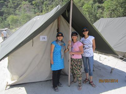 Location : Camp Vyasi – Camp Shivpuri Rishikesh Travel Dates: September to February Package Cost Rs 1950/- per person on Twin/Triple sharing Rafting: 20Kms Day 01: Arrive at Rishikesh before noon, Go for a camp.