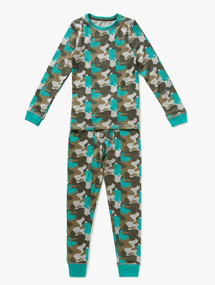 Marks & Spencer: Camouflage Print Thermal Set