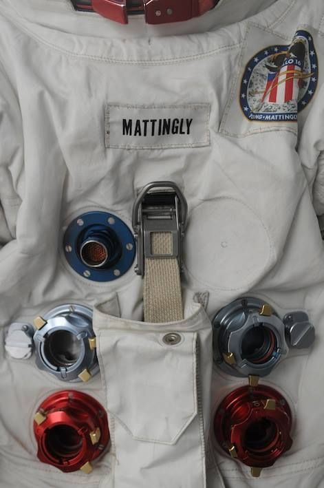 Ken Mattingly Apollo 16 suit
