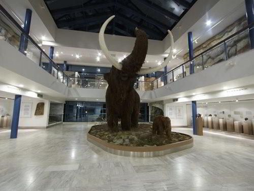 Cesta do pravěku v Brně - pavilon Anthropos a rekonstrukce mamuta