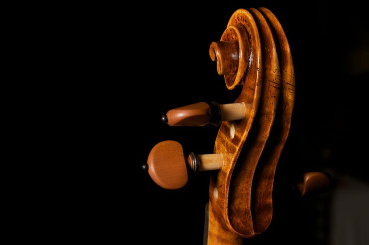 Guarneri Plowden (scroll) Violin Mmaker:Matteo Mazzotti