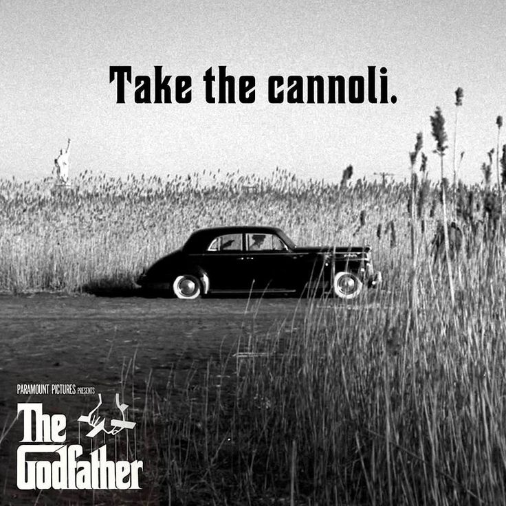AL PACINO #1 * 'Leave the gun. Take the cannoli.' #TheGodfather