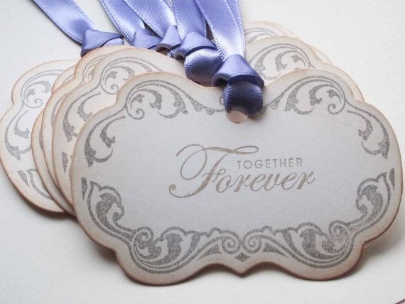 Wedding Wish tree tags/Shabby Chic tags Together by anistadesignsWedding Wish, Anistadesign