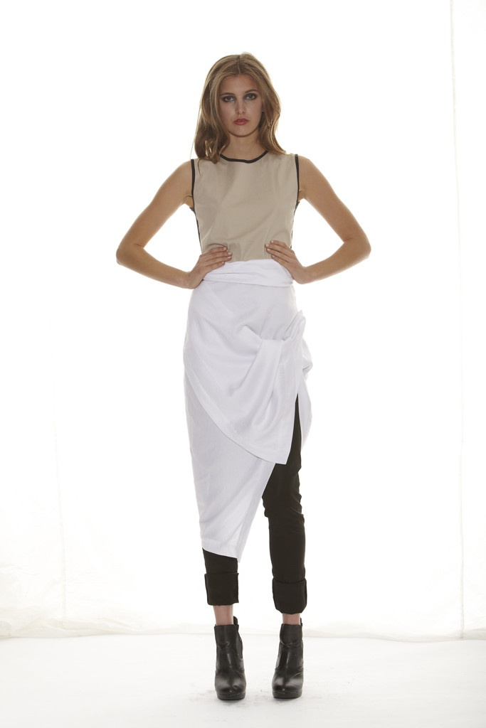 Taylor 'Shadow' Collection, Summer 12/13 www.taylorboutique.co.nz Solute Tunic