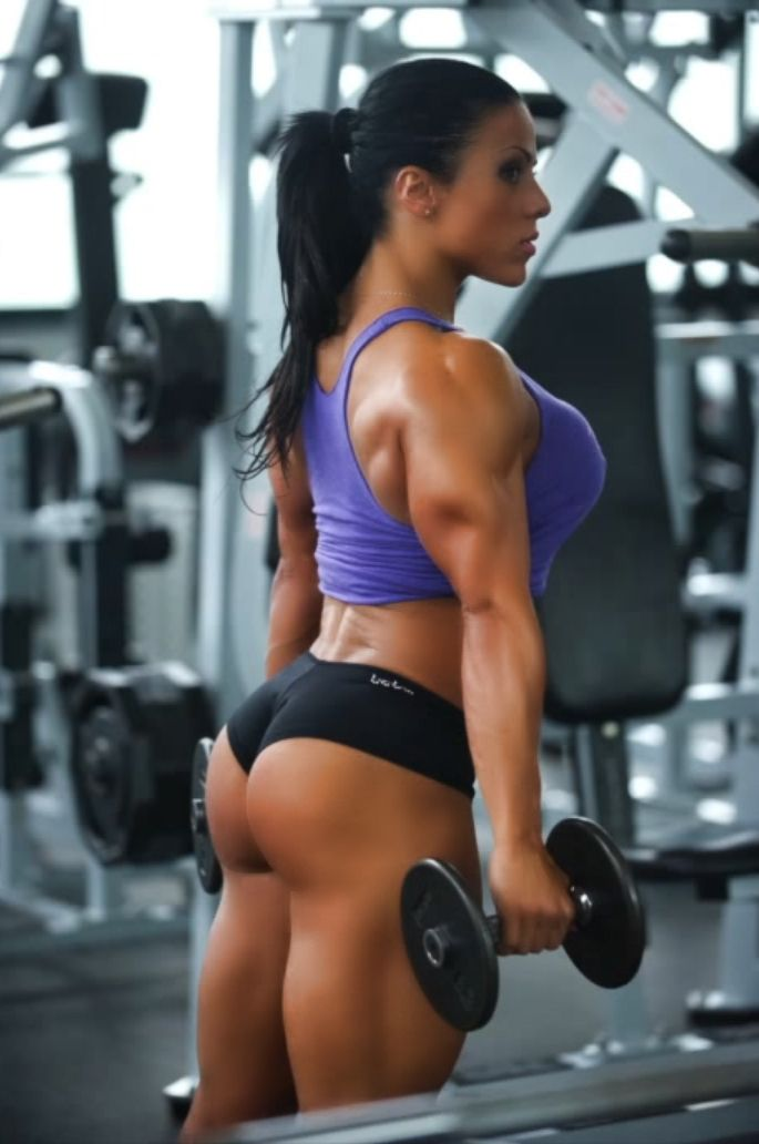 from Randy hot chicks working out naked