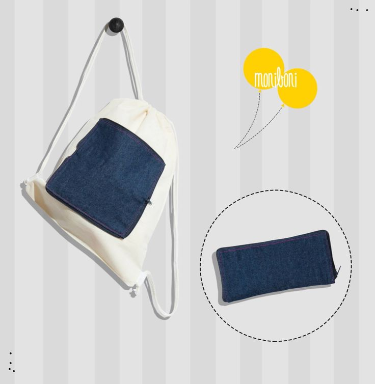 Drawstring foldable backpack www.pameladuran.cl