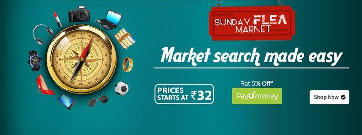 Shopclues Sunday Flea Market 18 October : Shopclues Dussehra Sale Offer - Best Online Offer