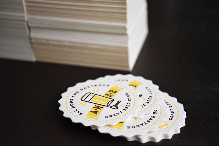 Letterpress Bierdeckel Muster - Get your own Custom Coaster here: http://www.letterpresso.com/bierdeckel-upload.html Wir drucken individuelle Bierdeckel: Prost!  #customcoasters #Letterpress #Prägedruck #Bierdeckel