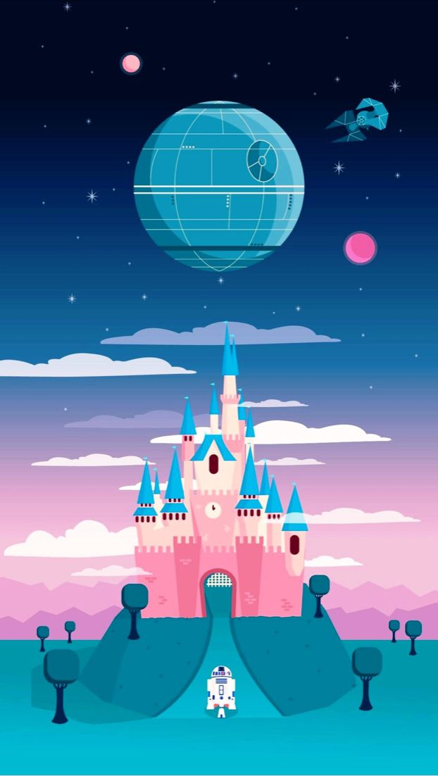 Disney Castle Wallpaper Star Wars Iphone Wallpaper Wallpaper