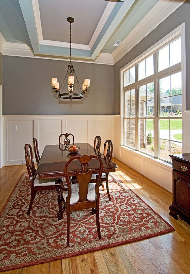 22 best images about dining room on pinterest ceiling for Dining room tray ceiling paint ideas