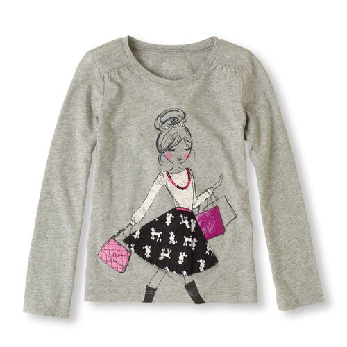 A super sweet style made specially for your girly girl!