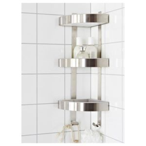 Wall Mounted Bathroom Corner Shelf Unit