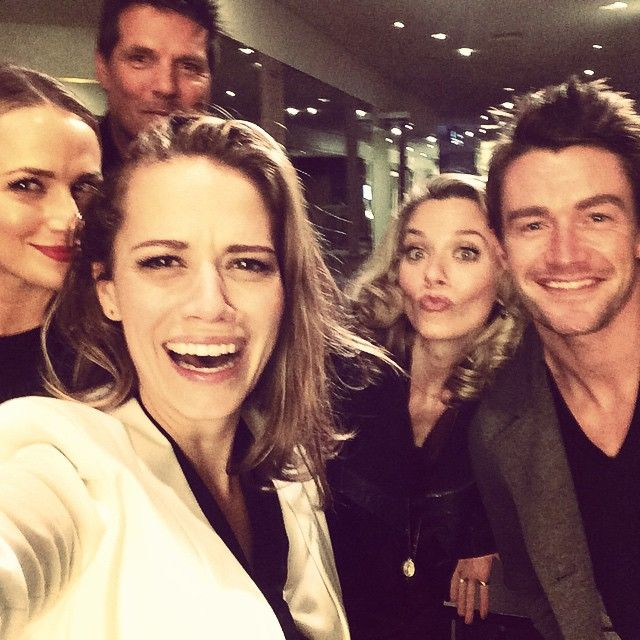Shantel VanSanten, Bethany Joy Lenz, Paul Johansson, Hilarie Burton, and Robert Buckley in Paris 10/18/2014