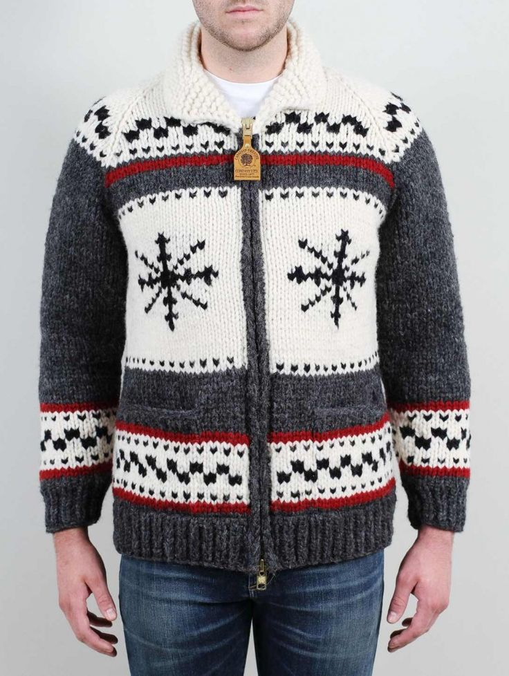 Over the Rainbow's 40th Anniversary Limited Edition Cowichan Sweater, lined with nylon so it doesn't get itchy!