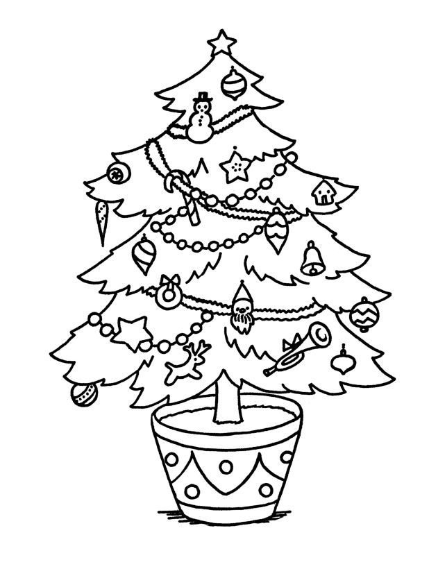 classic christmas coloring pages