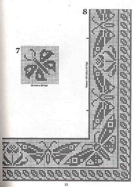 Butterflies Filet Crochet