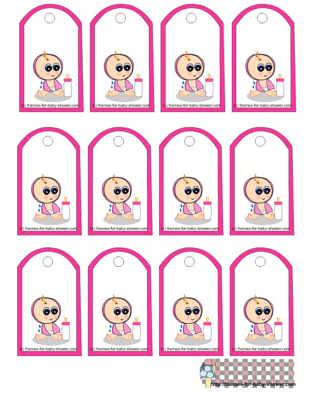 158 best images about templates on pinterest free for Baby shower label template for favors