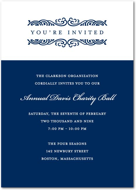 20 best Invitations images on Pinterest Event invitations - corporate party invitation template