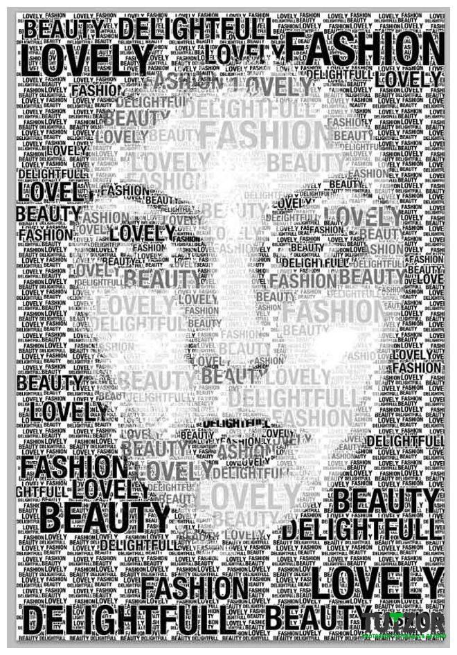 typography portrait via www.tutzor.com