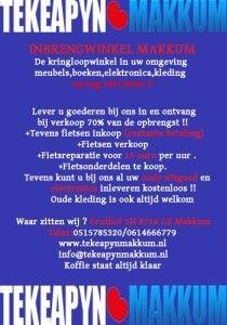 Kringloopwinkel / Inbrengwinkel Makkum - Harlingen / Franekeradeel - Koopplein.nl