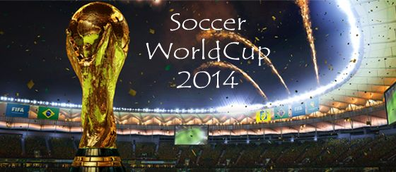 All set for the Fifa World Cup 2014, Folks? Give Us a Hell Yeah, if You Are ! #Fifa2014