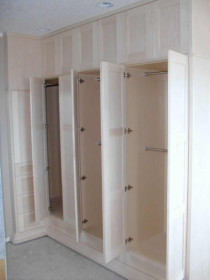 17 best images about built in closets for middle room on pinterest built in wardrobe ikea - Nice bedroom wardrobes ...
