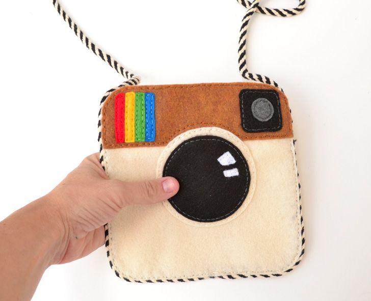 Make an Instagram Felt Purse