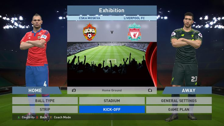 CSKA Moskva vs Liverpool FC, VEB Arena, PES 2016, PRO EVOLUTION SOCCER 2016, Konami, PC GAMEPLAY, PCGAMEPLAY