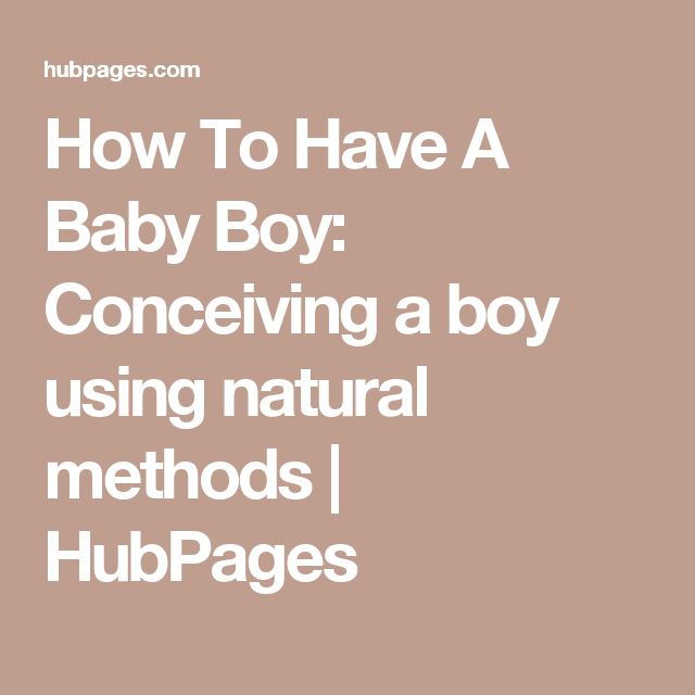 Best 25 Conceiving A Boy Ideas On Pinterest  How To -5862