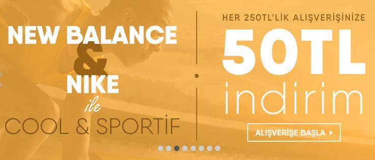 markafoni, markafonide nike new balance ürünlerinde indirim Nike & New Balance Ürünlerinde 250 TL Alışverişe 50 TL İndirim Fırsatı Markafoni Nike & New Balance Ürünlerinde 250 TL Alışverişe 50 TL İndirim Fırsatı Online Alışveriş - Satın AL,
